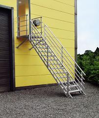 buiten trap aluminium
