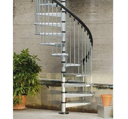 Buiten trappen voor naar uw balkon of dakteras for Vluchttrap bouwbesluit